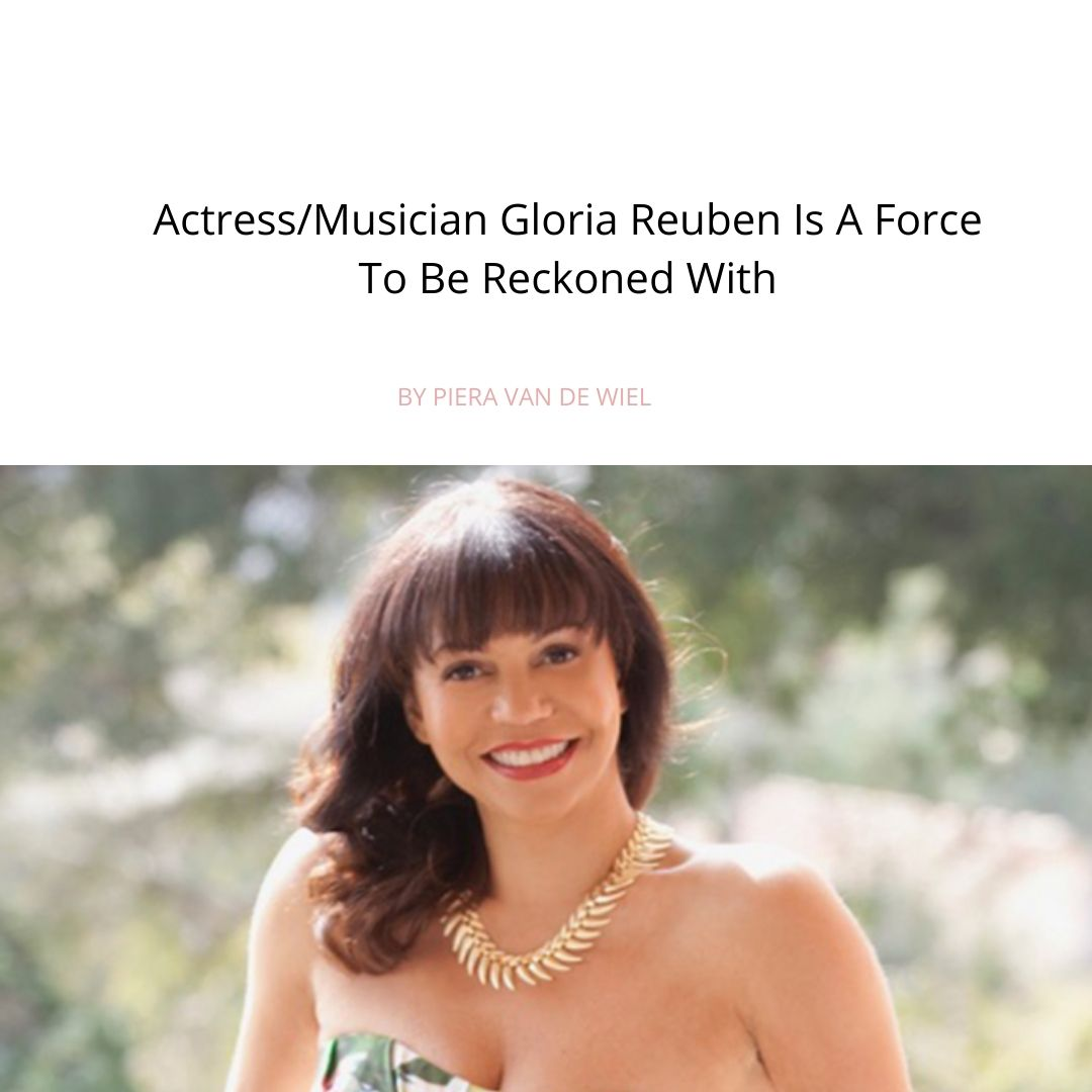 Ossa Collective Actress/Musician Gloria Reuben is a force to be reckoned with
