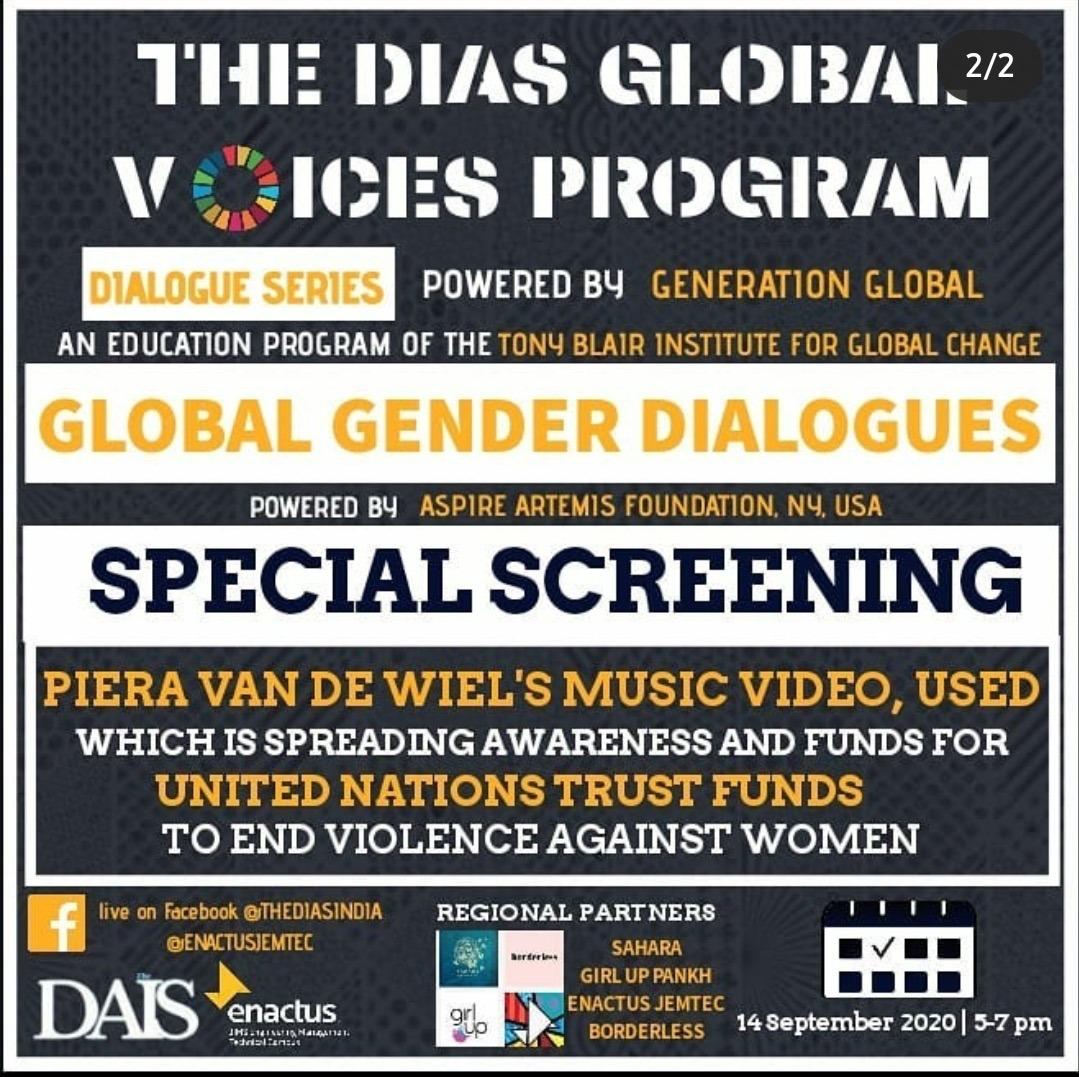 Global Gender Dialogues - end violence against women